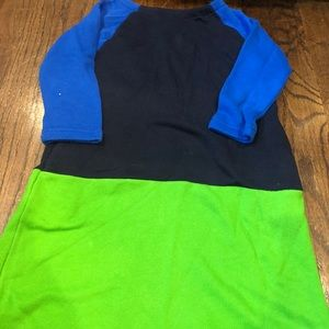 Adorable color block long sleeve dress crewcuts 7